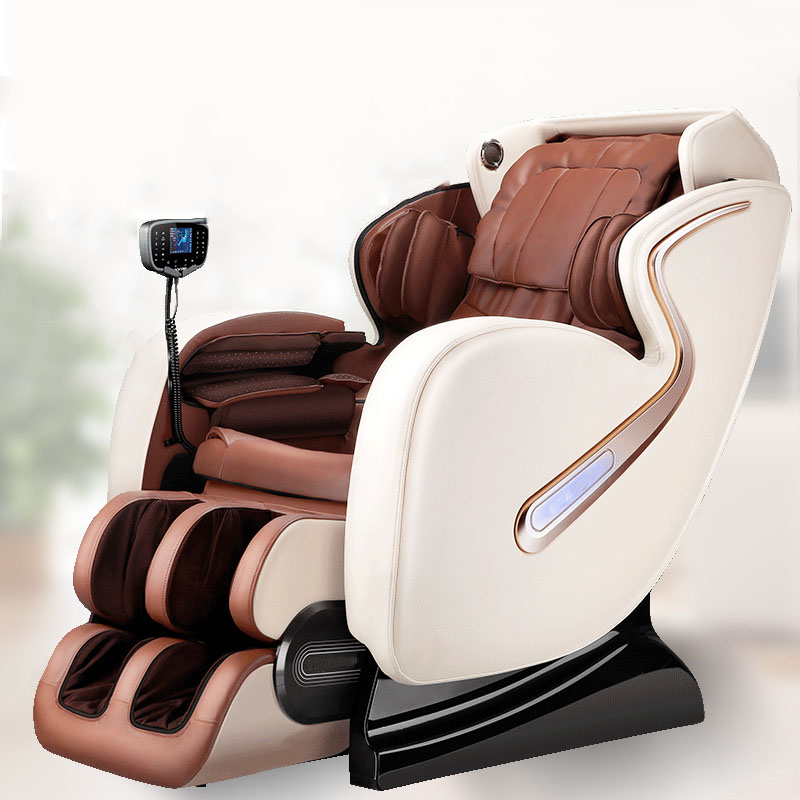 Full Body Massage Chair Zero Gravity Home Automatic Kneading Massage Old Luxury Cervical Massager Multi-Function