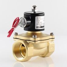 AC 220V,DC 12V 24V Normally closed Electric Solenoid Valve Pneumatic Valve for Water Oil Air  DN10 DN15 DN20 DN25 DN32 DN40 DN50 1pc 2w 040 10 2way2position 24v dc 3 8 electric solenoid valve water air normal close