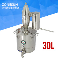 Multifunction Household Stainless Steel Home Wine Brewing Device 25L Alcohol Distiller Wine Maker English Manual 11