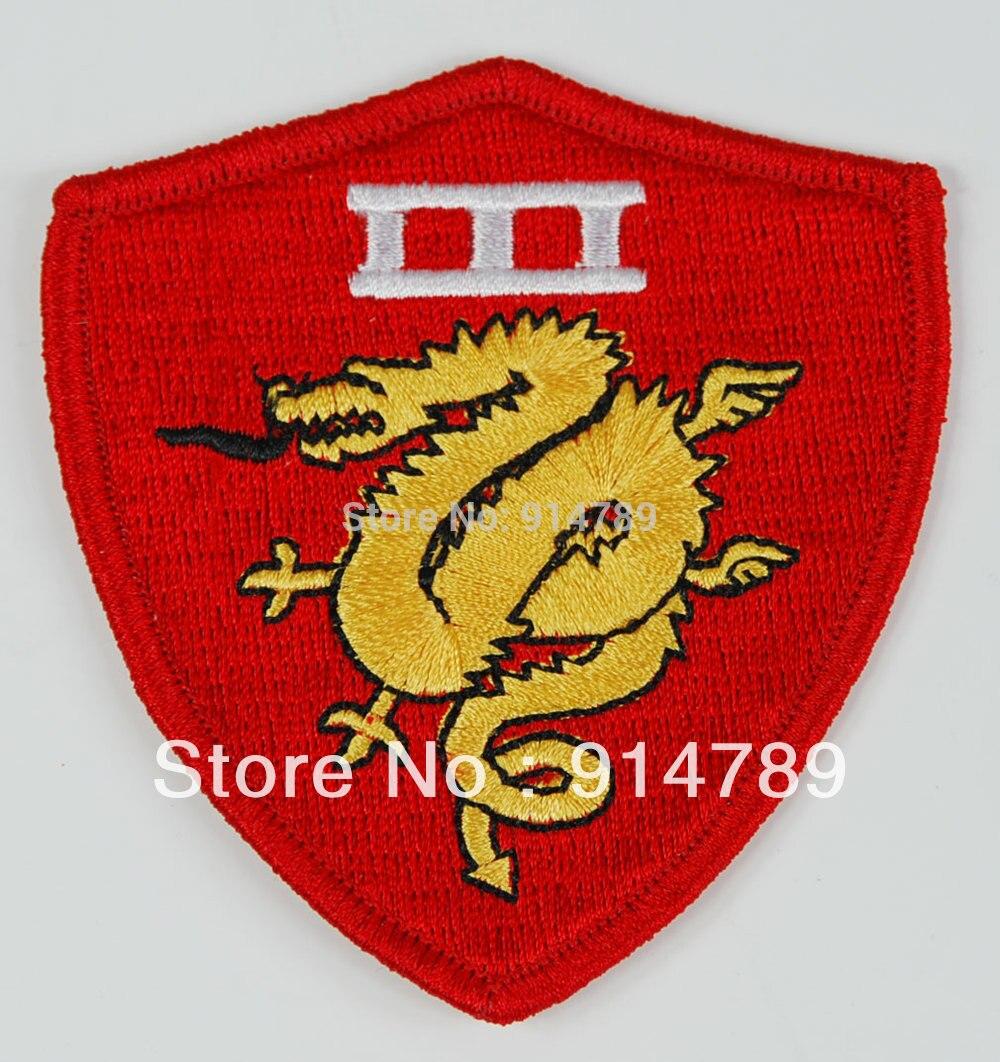 US UNIFORM MILSPEC ARMBAND GOLDEN DRAGONS PATCH-32651