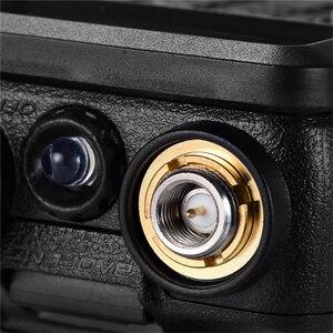 Image 4 - 100% oryginalny BaoFeng F8 + Upgrade Walkie Talkie Police dwukierunkowy Radio dwuzakresowy długa na świeże powietrze zakres VHF krótkofalowe UHF Transceiver