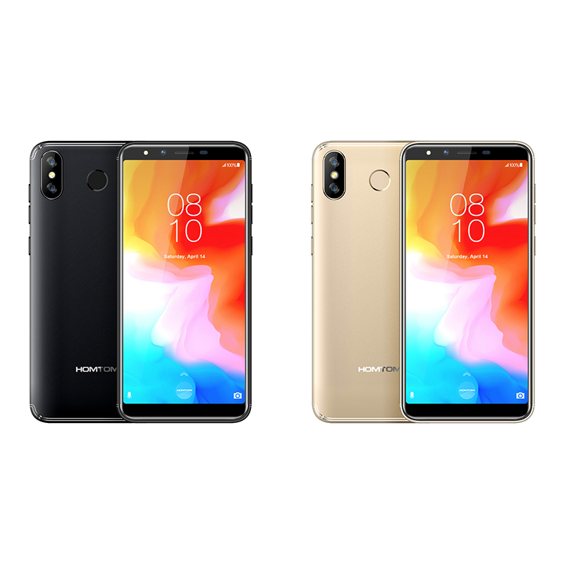 """Image 3 - HOMTOM H5 3GB 32GB Mobile Phone 3300mAh Fast Charge Android8.1 5.7"""" Face ID 13MP Camera MT6739 Quad Core 4G FDD LTE Smartphone-in Cellphones from Cellphones & Telecommunications"""