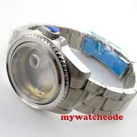 43mm sapphire glas Uhr Fall fit ETA 2824 2836 BEWEGUNG C101