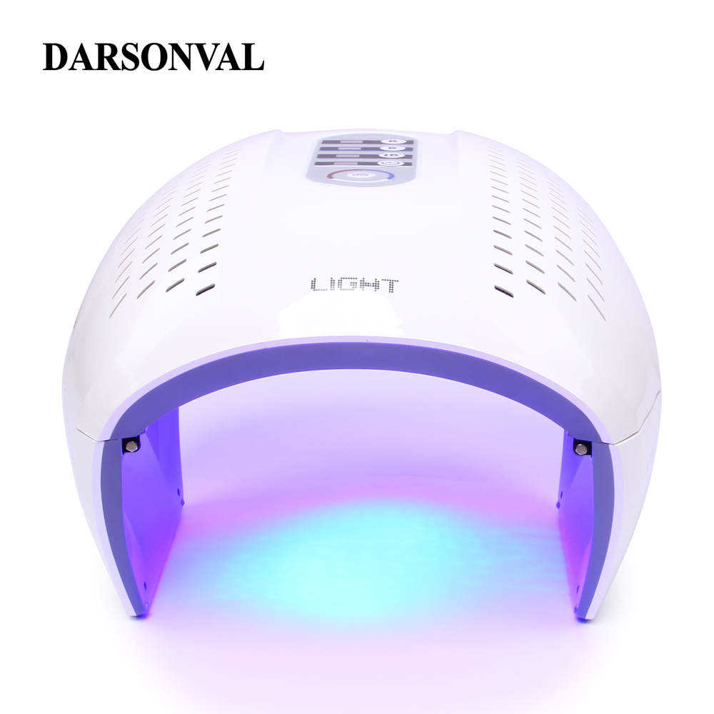LED Facial Mask Photon Light Energy Therapy Lamp Facial Care Beauty Machine Skin Rejuvenation PDT Anti Aging Acne Wrinkle Remove все цены