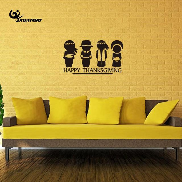 Thanksgiving Wall Sticker Poster Removable Stickers Stickers For ...