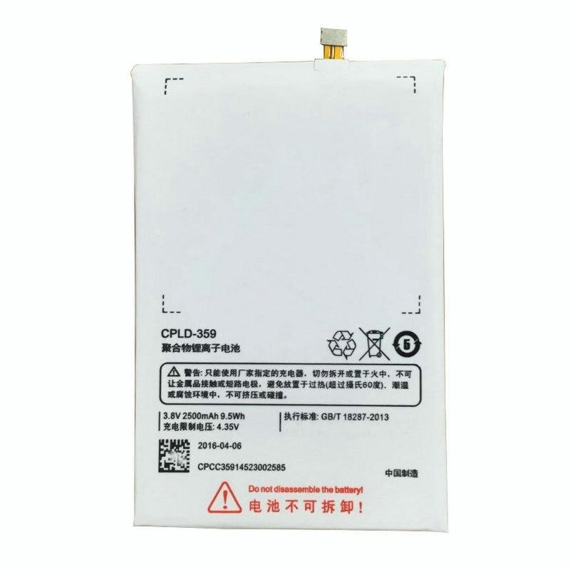 imágenes para 2500 mAh Batería E501 CPLD-359 Para Coolpad Teléfono Móvil Reemplazo de Baterías de li-polímero Batería 100% Probado En stock + herramientas