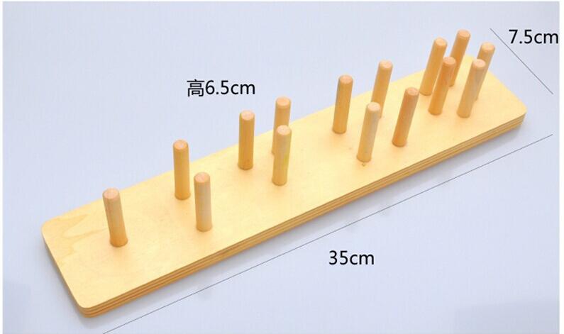 Montessori Toys Wooden Blocks Geometry Shape Model Building Kits Children Educational Toy Wood Building Blocks 9