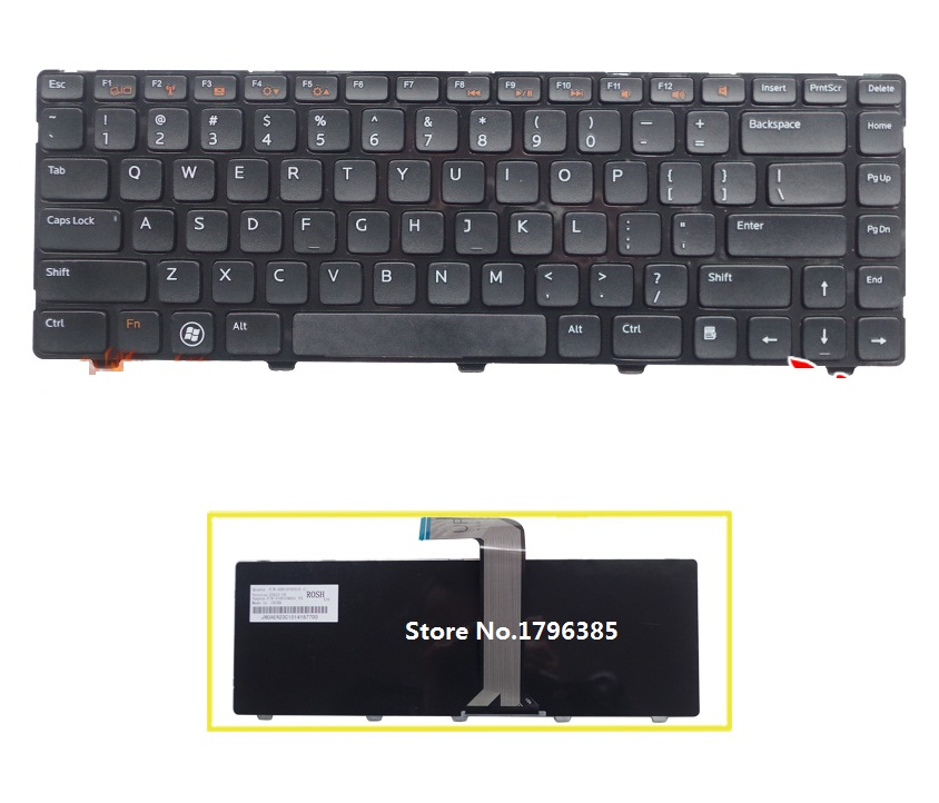 SSEA Brand New US <font><b>Keyboard</b></font> For <font><b>DELL</b></font> Inspiron 15R 3518 5520 15 <font><b>3520</b></font> Turbo 7420 7520 laptop <font><b>Keyboard</b></font> free shipping image