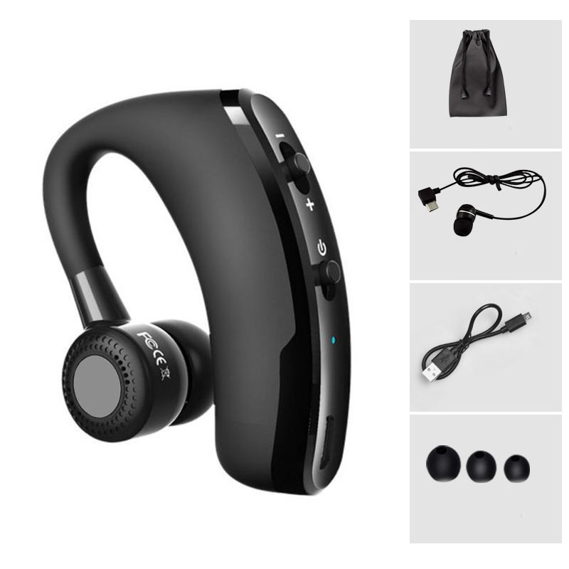 Handsfree Business Bluetooth Headset With Mic Voice