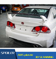 Для Honda FD2 Civic ABS Материал Автомобилей Задний Спойлер Крыла грунтовка Цвет Спойлер Задний Спойлер Для Honda Civic FD1 FD2 2006-2011