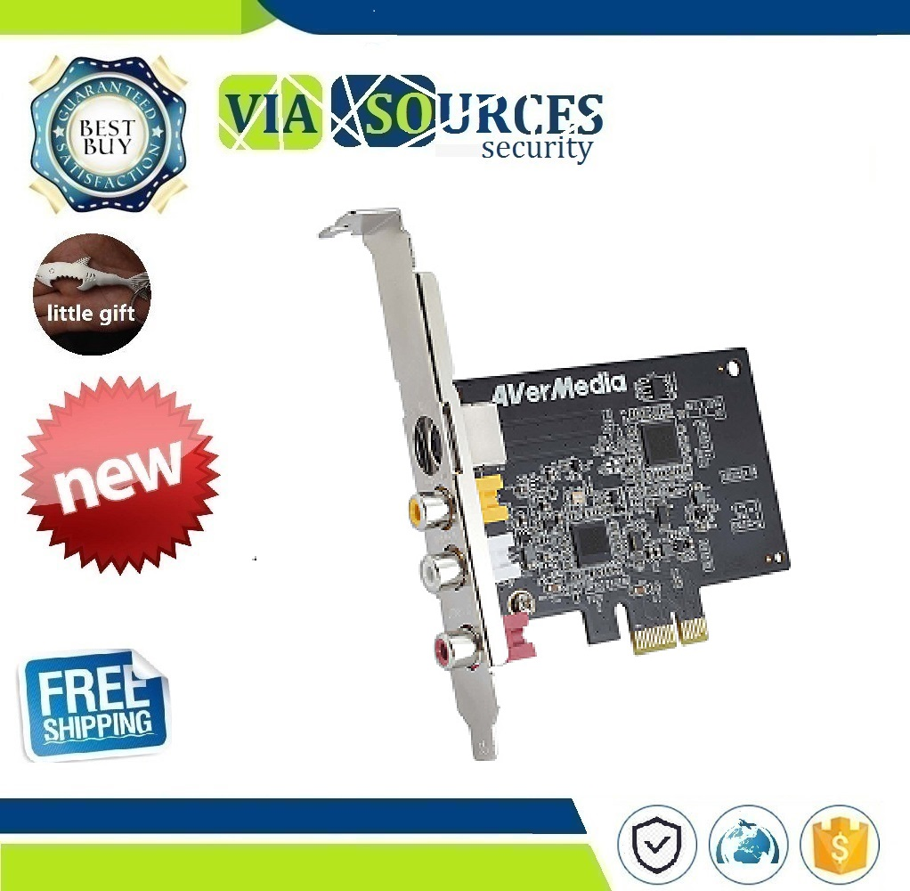 Video Capture Card AV PCI E DVR CardVideo Capture Card AV PCI E DVR Card