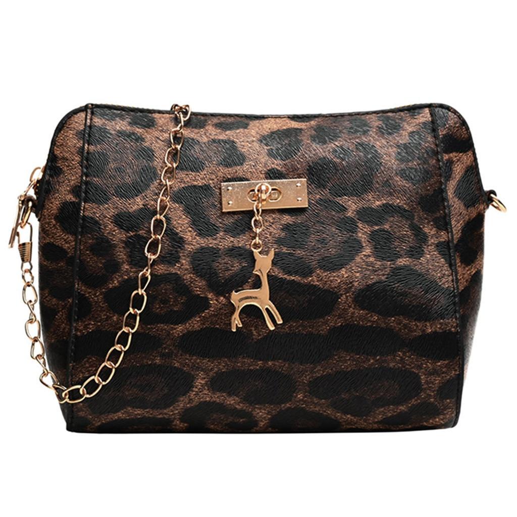 Frauen Schulter Bgs Leopard Print Fawn Anhänger Shell Schulter Tasche 2019 Frühling Neue Mode Umhängetasche Hohe Qualität Handtaschen Damentaschen Taschen Mit Griff Oben