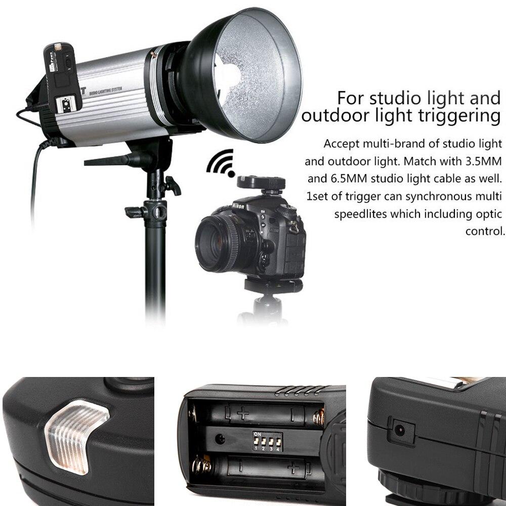 Aliexpress.com : Buy PIXEL TF 362 For Nikon D7100 D7200 D5200 D80 D5100 D90  D3300 Camera Wireless Flash Trigger Transmitter + Receiver Vs Godox CT 16  From ...