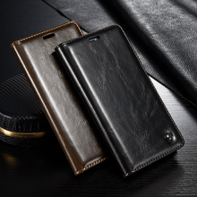 Phone Cases Xiaomi Redmi Note 3 Pro Note3 5.5 inch Case With Unique Metal Logo Original Luxury Leather Wallet Magnet Flip Cover