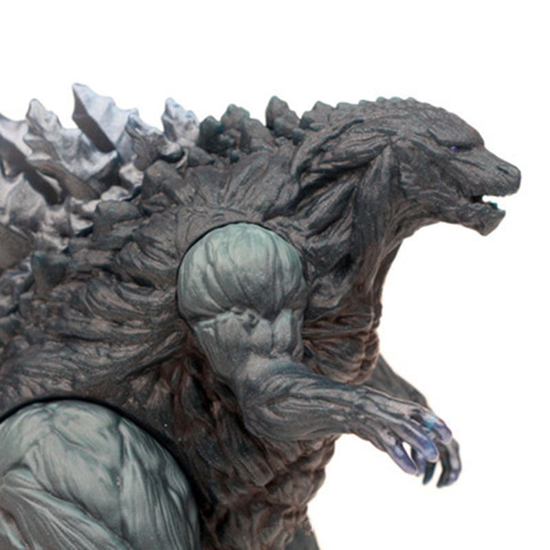 Godzillaed Vinyl Doll Gojira King Of The Monsters Toy Action Figure Movable Nucleon Doll Model Kid Kind Cartoon Anime Movie 17cm