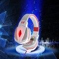 CADA G4000 HiFi Stereo Gaming Auriculares Control de Volumen Cancelación de Ruido Auriculares de Botón con Micphone para PC Juegos PS3