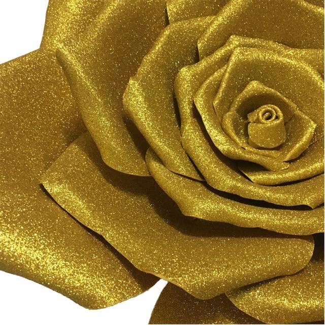 Perfect Soft White Foam Flower Wall Decor Crest - Wall Art Design ...