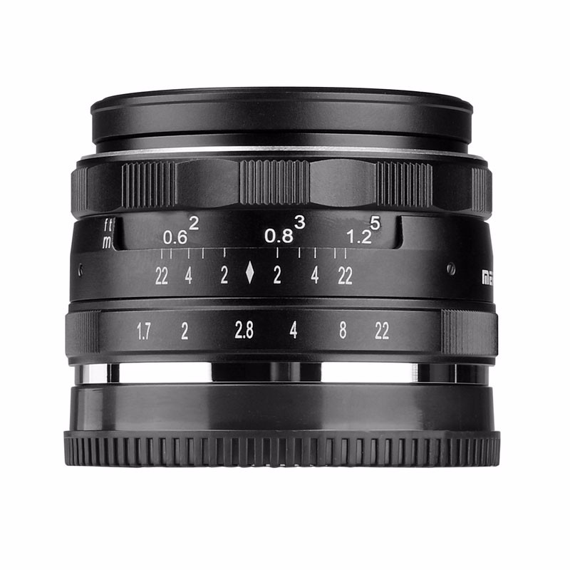 Meike MK-4/3-35-1.7 35mm f1.7 Large Aperture Manual Focus lens For Olympus for Panasonic APS-C M4/3 systems Mirrorless cameras мясорубка panasonic mk g1800pwtq