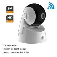 Original English DS-2CD2Q10FD-IW Hik 720P 1MP Wireless WiFi IP Pan Tilt Network Two-way Audio Security Camera