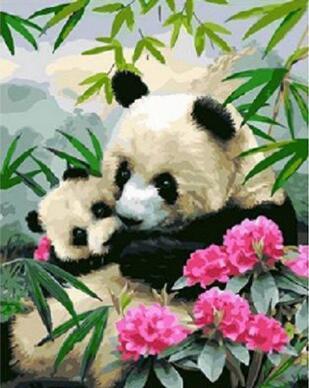 Coloriage Foret De Bambou.Mahuaf J005 Bouddha Peinture Coloriage Par Numeros Numerique
