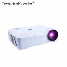 250 pulgadas Brillante 3000 Lúmenes Full HD DLP Publicidad de Negocios Educación data show Proyector 3D Beamer Projektor proyector