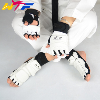 ילד מבוגר להגן על כפפות טאקוונדו רגל מגן קרסול תמיכת רגל לחימה משמר קיקבוקסינג אתחול WTF כף אושרה להגן