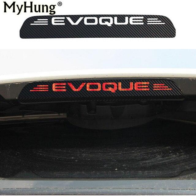 Us 522 16 Offneue Kohlefaser Additonal Bremslicht Aufkleber Dekorative Fällen Für Land Rover Evoque Bremsleuchte Dekoration Aufkleber Auto Styling