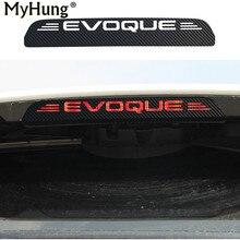 Новый углерода Волокно additonal стоп Стикеры декоративные Чехол для Land Rover Evoque стоп украшения Стикеры стайлинга автомобилей