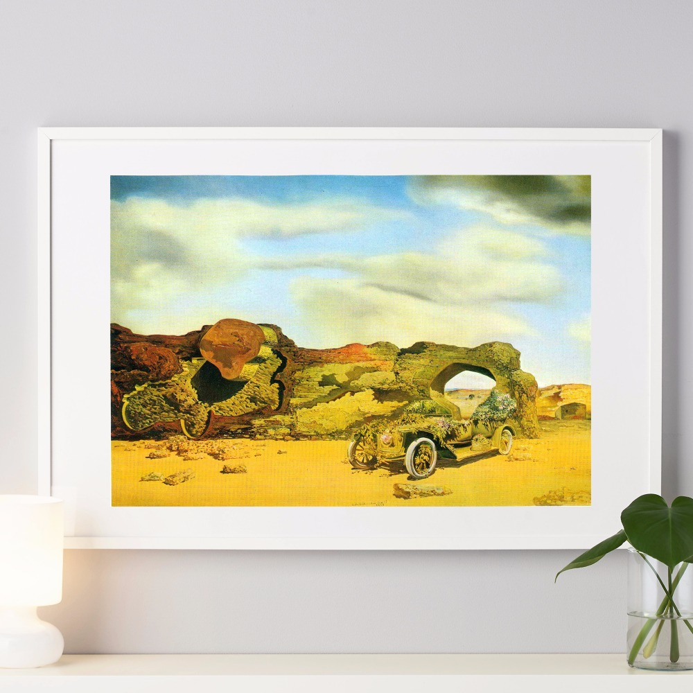 Salvador Dali Surrealism Canvas Art Print Painting Poster Wall ...