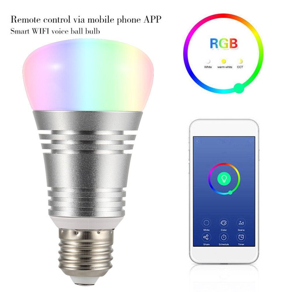 WiFi Smart LED Light Bulb 16 Million Colours Bulbs For Google Home Amazon Alexa AI88