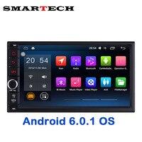Авторадио 2Din 7 дюймов Экран Android 6 Marshmallow Стерео GPS для Nissan Qashqai Kia Toyota головное устройство автомобиля Bluetooth 3 г Wi-Fi