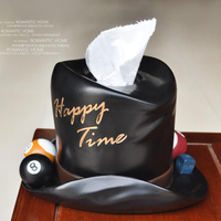 Free Shipping Continental Creative Paper towel , Napkin bins Tissue box fashion cartoon hat paper towel box