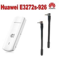 Huawei E3272 4G LTE USB Dongle USB Stick Datacard Mobile Broadband USB Modems plus 2pcs antenna