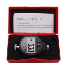 Buy 0-100HC Digital shore Durometer sclerometer LX-C Rubber Hardness Tester Meter 100HC