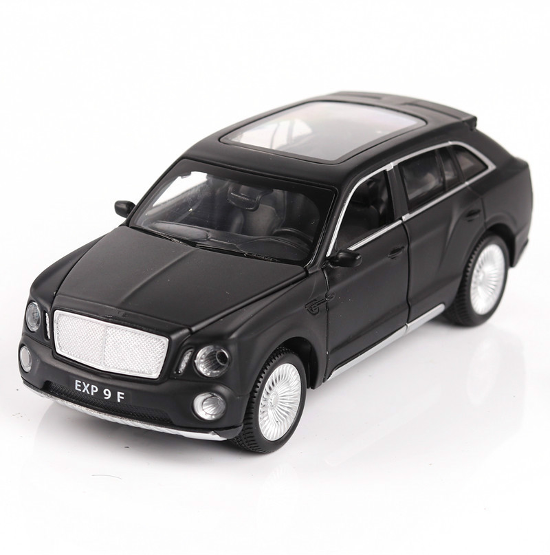 For Bentley Tim Yue Simulation Alloy Car Model Sound And