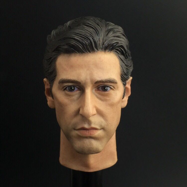 "1:6 Scale Al Pacino Head Sculpt The Godfather For 12/"" Male Doll"
