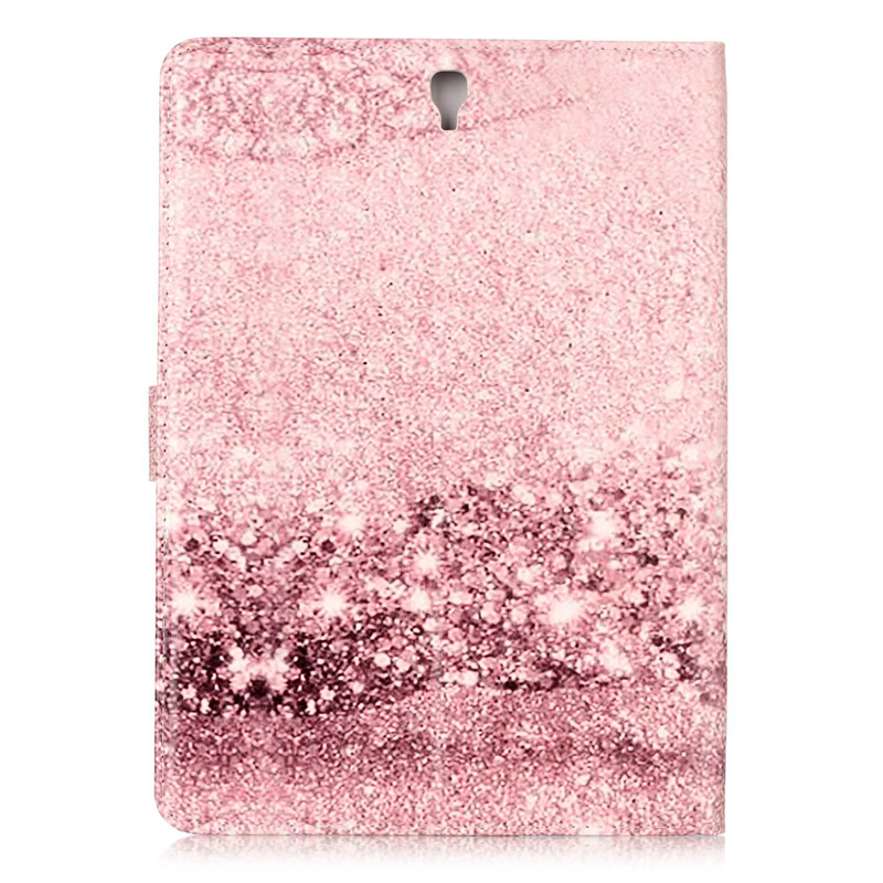 For Samsung Galaxy Tab S3 T820 Marble Painted Pu Leather Stand Cover Capa,SM-T820 T825 9.7Inch Soft Back Antibreak Case Fundas