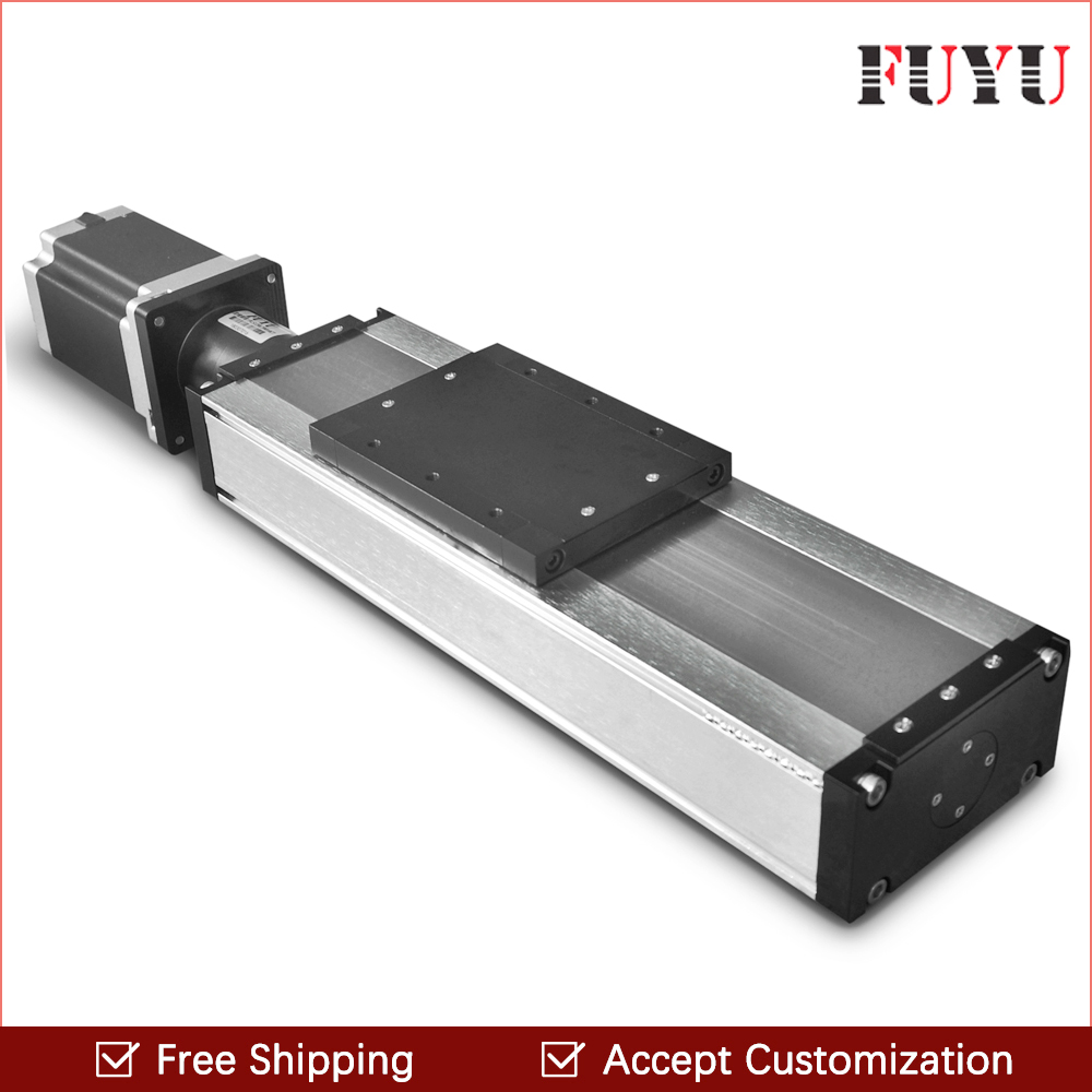 Free shipping 300mm Stroke CNC Motorized Linear Slide Motion Guide Stage Actuator Ball Screw Linear Stage Rail Nema 34 Motor free shipping factory sale ball screw linear guide rail xyz motorized stage table robotic arm z axis 300mm with motor