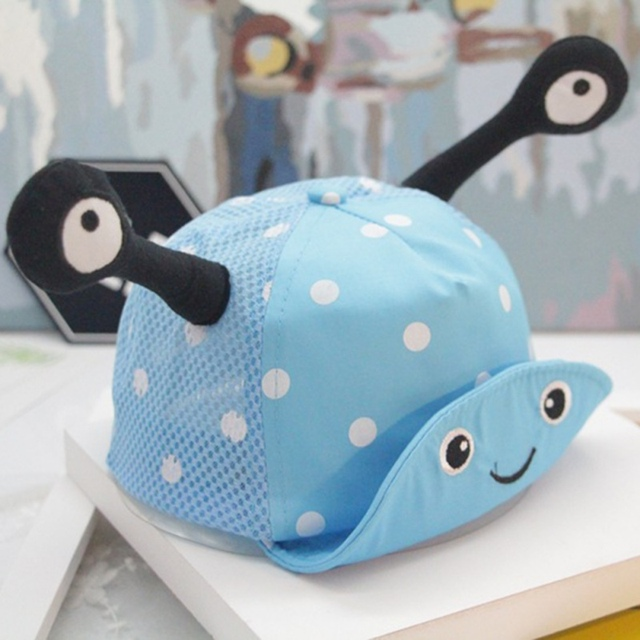 6f824a927c4 8-20M Newborn Toddler Baby Girl Boy Little Ear Hat Kids Cap Snapback  Baseball Dots