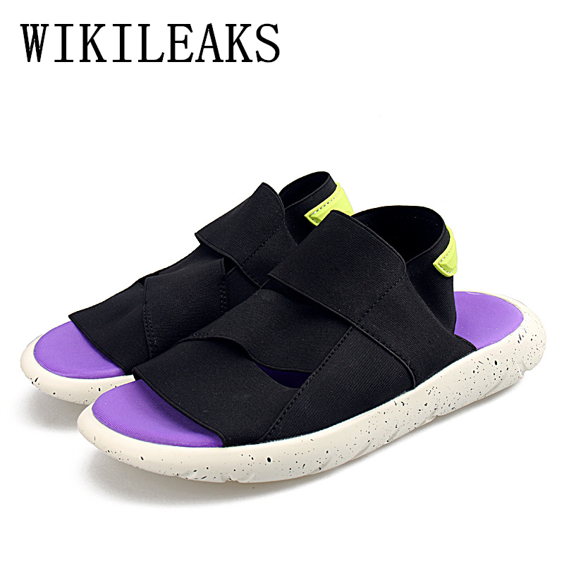 2018 Summer Shoes Designer Version Woman Beach Sandals Luxury Brand Gladiator Casual Shoes Women Flat Slippers zapatos mujer
