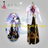 Fate grand order Merlin cosplay costume party dress Hallawoon uniform Free Shipping custom made