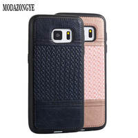 For Samsung Galaxy S7 Case Cover Samsung S7 Luxury Leather Silicone Case For Samsung Galaxy S7