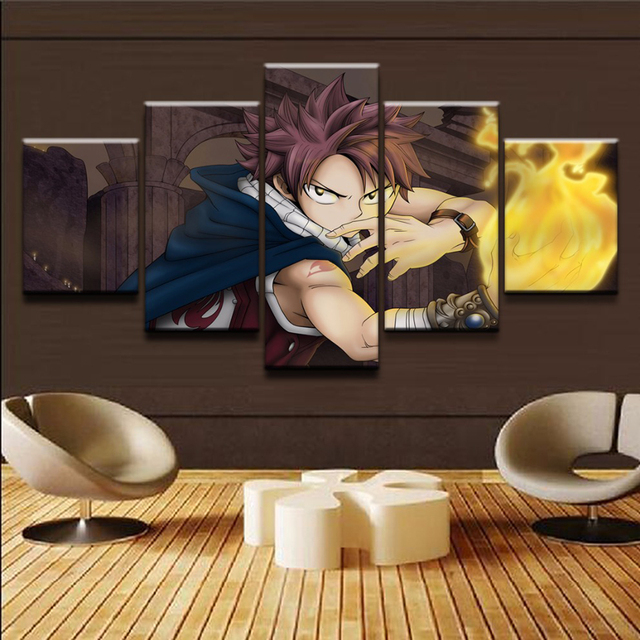 Fairy Tail Wall Art Painting