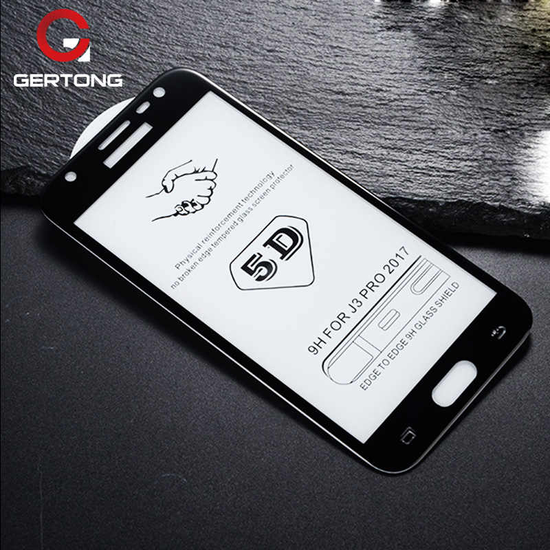 Full Cover 5D Tempered Glass For Samsung Galaxy A8 Plus 2018 A5 A7 2017 J4 J8 A6 J6 M30 M20 M10 A10 Toughened Screen Protector