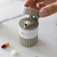 Dropshipping Lovely Pill Crusher Grinder Splitter Tablet Div