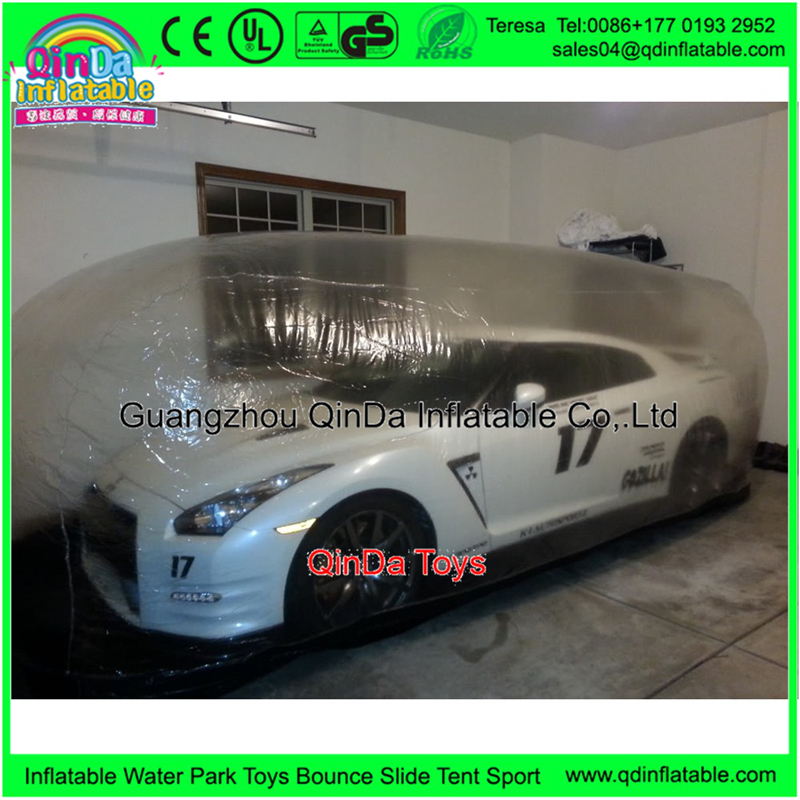inflatable car shelter1