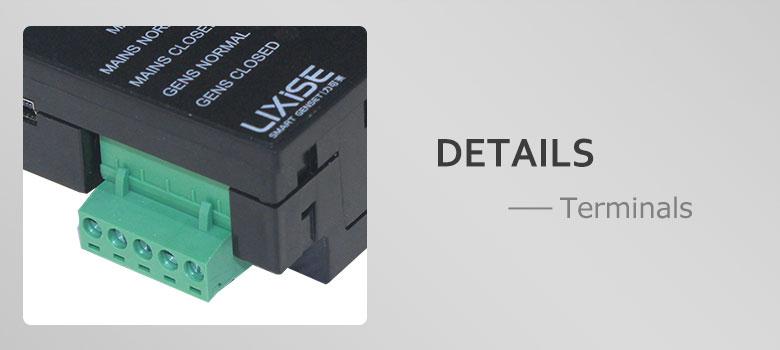 Ats106 Lixise дизель-генератор ats автоматического переключения панели