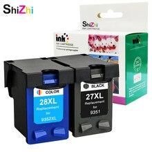 Чернильный картридж SHIZHI, совместимый с HP 27 XL 28xl для HP Deskjet serie 450 450CI 5550 3420 3520 3550 3650 3740 3845 принтер 4255