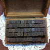 Wholesale 70pcs Set Number And Letter Wood Stamp Set Wooden Box Multi Purpose Stamp DIY Funny