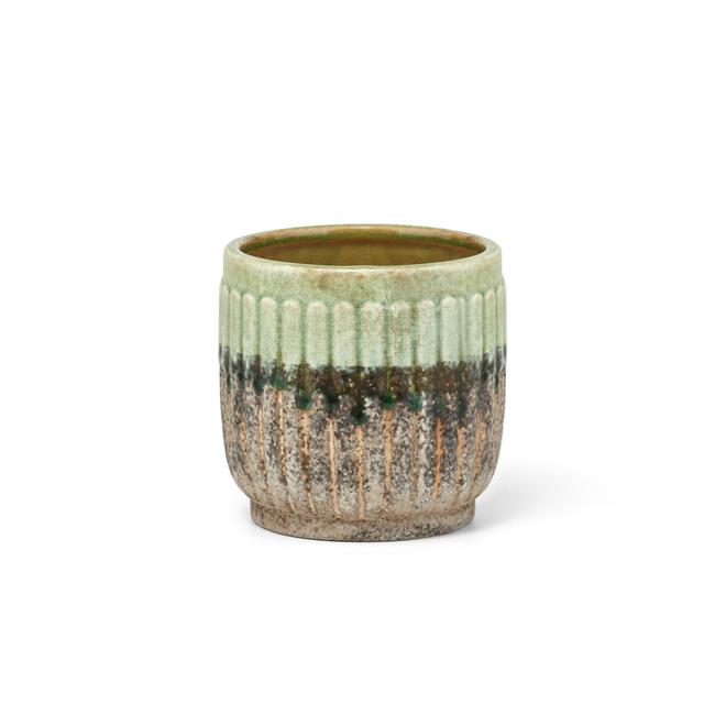 Captivating Ceramic Vases Brown (Set Of 4)